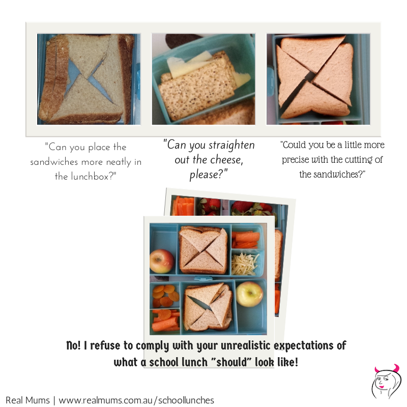 Can you - school lunches